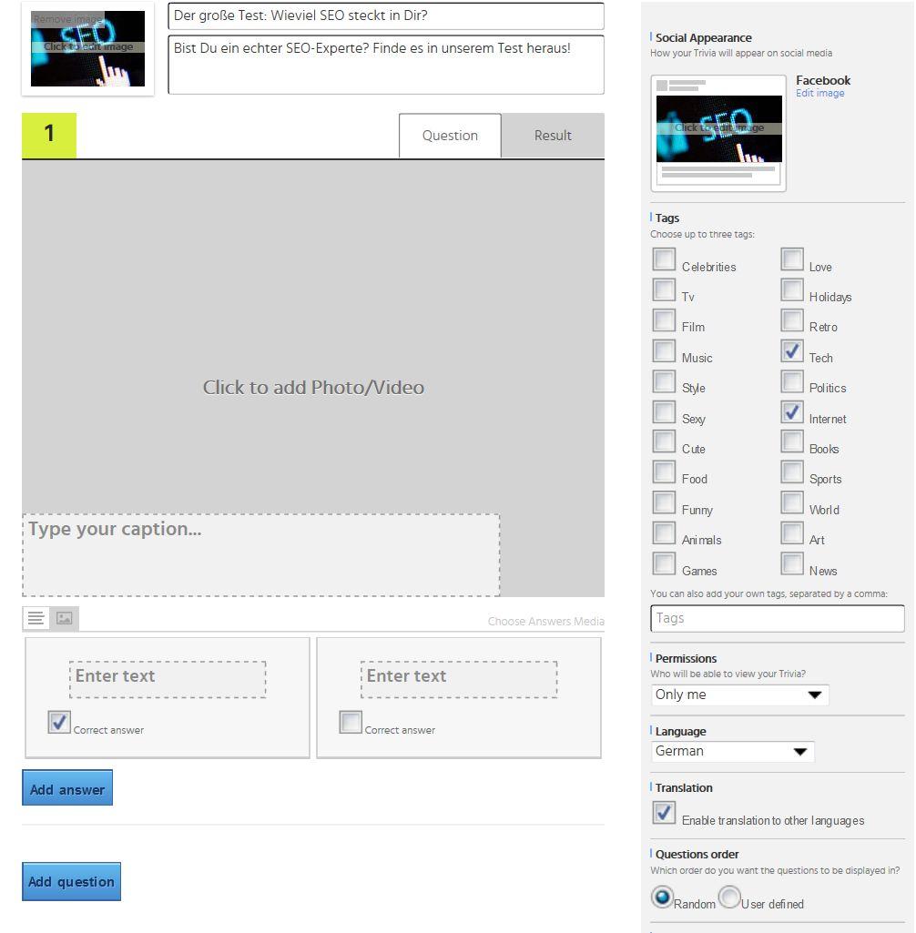 Playbuzz Editor