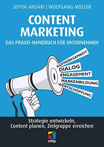 """Im Fachhandel erhältlich: """"Content Marketing - das Praxis-Handbuch für Unternehmen""""."""